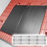 SAXONICA - Riscaldamento a energia Solare per Piscine, riscaldatore HelioPool®, 4 x 2 Pezzi, Orizzontale, 9,6 mq