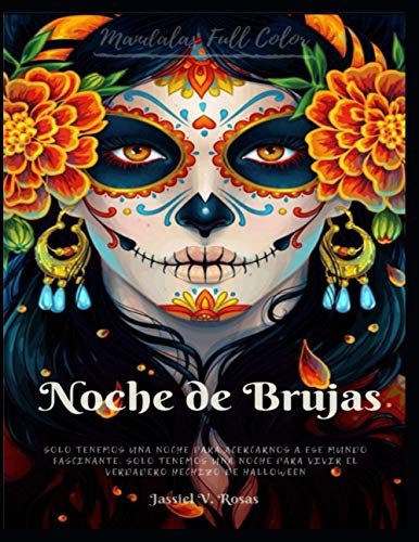 Mandalas Noche de brujas: Mandalas para el día de los muertos para niños y adultos: 1