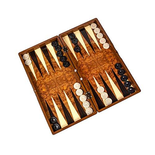 Master Games T81-Backgammon Tavla Big Size 49,0 x 25,0 x 6,0 cm, de madera (tablero de fibra de densidad media)