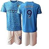 TAOZHUANG 20/21 Niños G.Jesus 9# Camiseta de fútbol Camiseta de Jugador (Niños de 4 a 13 años) (26)