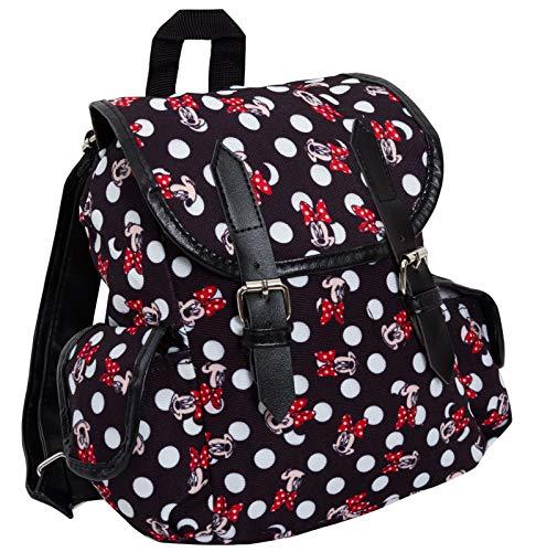 Disney Minnie Mouse Rucksack / Reisetasche, luxuriös, für Damen und Kinder, Schule minnie maus Einheitsgröße