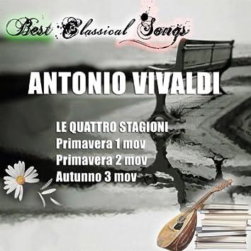 Best Classical Songs, Vivaldi: Le quattro stagioni, Concerto No. 1 & 3