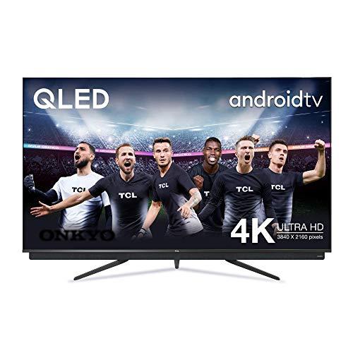 TCL 65C815 - Televisor Smart TV 4 K UHD (65 pulgadas, HDR 10, Micro Dimming Pro, Android TV, Alexa, Google Assistant)