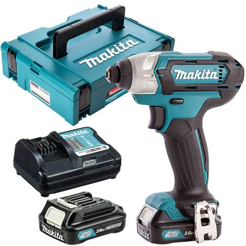 Makita TD110DZ 12V CXT Impact Driver with 2 x 2.0Ah Batteries & Charger in Case