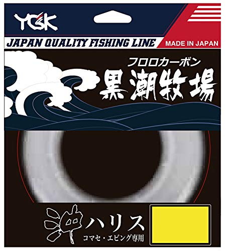 よつあみ(YGK) ライン コマセ・エビング専用 沖ハリス 黒潮牧場 50m 30号