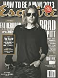 Esquire Magazine (Brad Pitt Cover, June/July 2013)