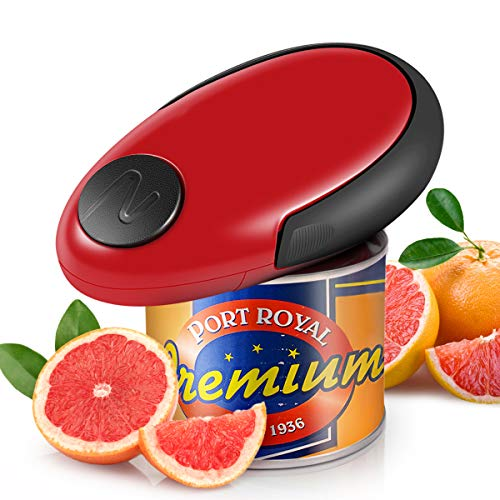 Electric Can Opener, Automatic Can Opener, Smooth...