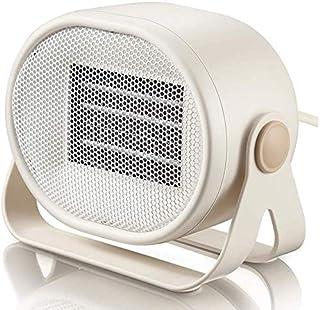 Mini Calentador de Espacio 500W PTC Elemento de calefacción de combustión Lenta del Material del radiador Suave y bajo Ruido Doble Temperatura de Control de Aire más cálido