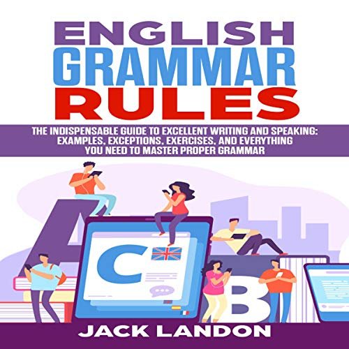 English Grammar Rules Titelbild