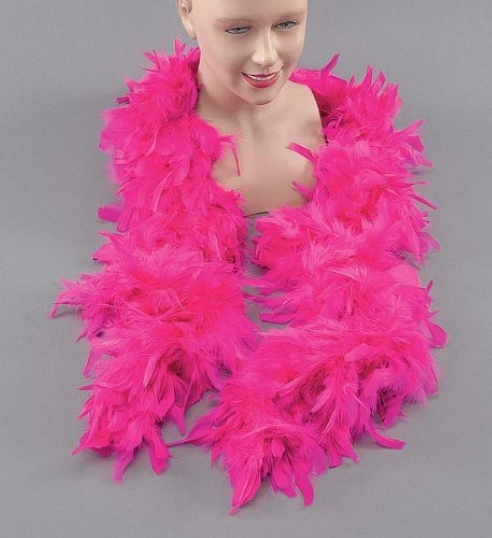 Feather Boa. Cyclamen by fancy dress warehouse