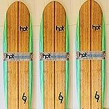 Hot surf 69 7″0 ft Soft board Beginners Surfboard Foam Mini Mal Shape inc leash wax