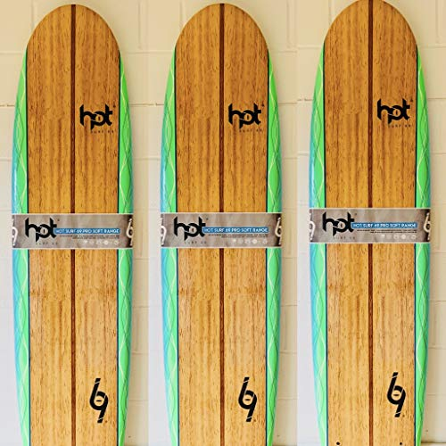 Hot surf 69 7″0 ft Soft board Beginners Surfboard Foam Mini Mal Shape inc...