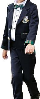 Heaven Days(ヘブンデイズ) 子供服 キッズ フォーマル スーツ 4点セット 制服 卒業式 七五三 入園式 女の子 男の子 1802F0127