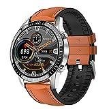 LSQ Watch Smart pour Téléphones Android/iOS, Suiveur De Santé Bluetooth avec Moniteur De Fréquence Cardiaque, Appel De Bluetooth Numérique I9 Smartwatch,F
