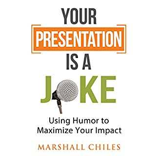 Your Presentation Is a Joke audiobook cover art
