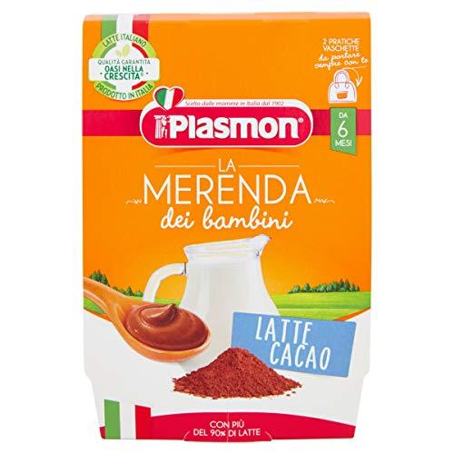 Plasmon Merenda Latte al Cacao 2x120g