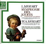 Leopold Mozart: Symphonie Des Jouets - Concerto Pour Trompette / Une Plaisanterie Musicale KV 522 [CD] - Leopold Mozart