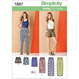 Simplicity 1887Women's Trousers & Skirts, Paper, White, K5 (8-10-12-14-16)