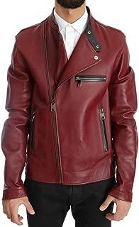Red Leather Deerskin Jacket