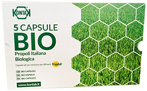 Propolair C2 Capsule Bio Propoli Italiana Kontak per I diffusori PROPOLAIR, 5 Capsule