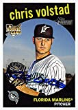 Autograph Warehouse 626418 Chris Volstad Autographed Baseball Card - Florida Marlins 2008 Topps Heritage Rookie - No.515. rookie card picture