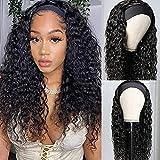 Long Headband Wig Curly Wigs
