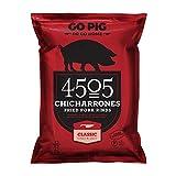 4505 Chicharrones (Fried Pork Rinds) Classic Chili & Salt, 2.5 oz, 12-pack