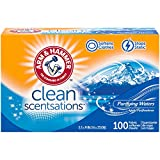 ARM & HAMMER Fabric Softener Sheets, 100 sheets, Purifying Waters