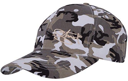 2Stoned Original Classic Snapback Baseball Cap Ice Camo mit Stick-Logo für Herren und Jungen