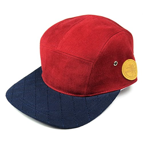 Morning Glory Casquette 5 panel chili pepper