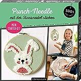 Mein Punch-Needle Starter-Set 'Häschen': mit der Stanznadel sticken (100% selbst gemacht)
