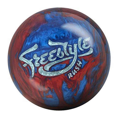 Motiv Freestyle Rush Bowling Ball Blue/Red Pearl, 16lbs
