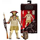 The Black Series Star Wars Year 2015 The Force Awakens 6 Inch Tall Figure #9 - Constable ZUVIO B3843 with Backpack and Spear