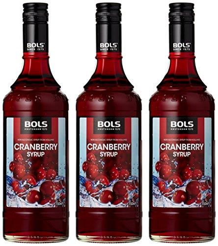 Bols Cranberry Syrup Alkoholfrei (3 x 0.75 l)
