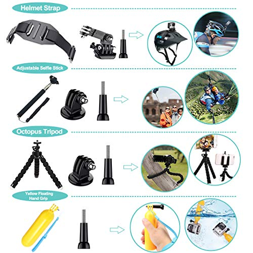 Product Image 7: 61 in 1 Action Camera Accessories Kit for GoPro Hero 9, 8, 7, 6, 5, and 4.