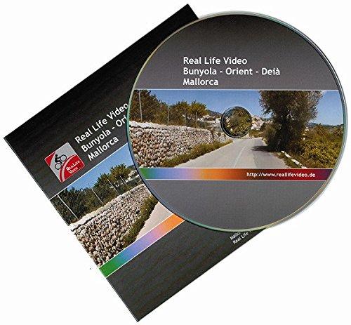 Real Life Video – Mallorca: Bunyola - Orient - Deià (für Tacx, Daum, Kettler, CycleOps und Cyclus 2)