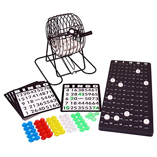 Denny International Bingo Lotto Lotto Drum Unit Bingo Spiel und viel Zubehör