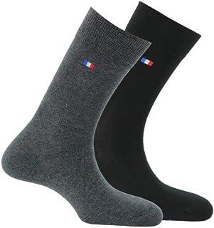 – 2 pares de calcetines fabricados en Francia