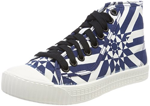 G-STAR RAW vrouwen Rovulc midden Hi-Top Trainers