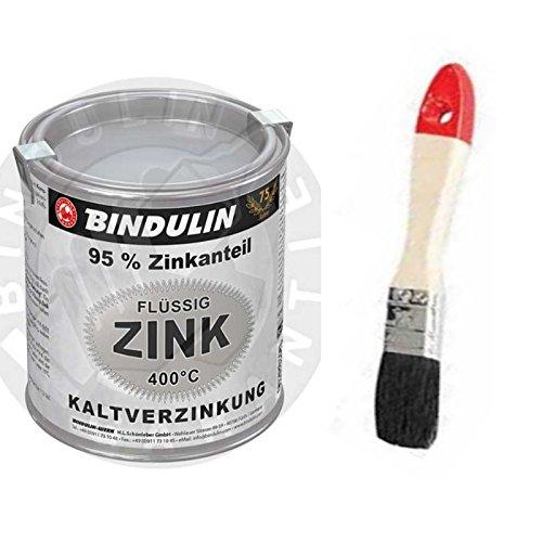 Flüssig-Zink 250 ml Dose Farbe: silber inkl. Pinsel zum Auftragen