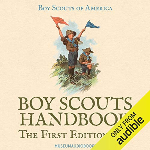 Boy Scouts Handbook: The First Edition, 1911 cover art