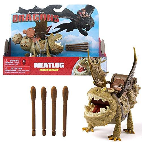 Dragons - Action Spiel Set - Drachen Fleischklops Meatlug Spike Blast