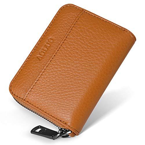 小さい 小銭入れ メンズ 本革 コインケース カードケース YKK ファスナー コンパクト 財布 (イエロー)