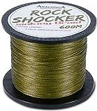 ANACONDA Rockshocker 0,25mm 19,6kg sinking Braid - 600m Karpfenschnur, Geflechtschnur zum Karpfenfischen, geflochtene Angelschnur