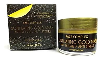 Gold Mask scintilating Face Cream 50ml Face Complex VentiZeroFive Anti-Wrinkle and Stress Relief from Ventizerocinque