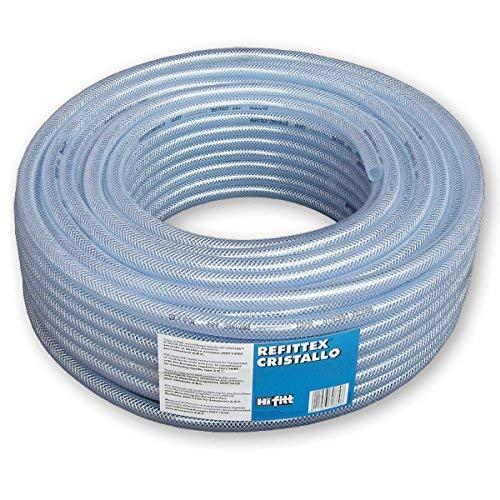 Bradas TXRC25*33/50 Tuyau à air comprimé PVC Transparent 25 x 33 mm 50 m