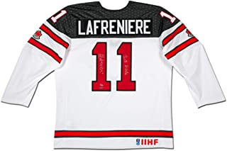 ALEXIS LAFRENIÈRE TEAM CANADA NIKE REPLICA WHITE JERSEY INSCRIBED