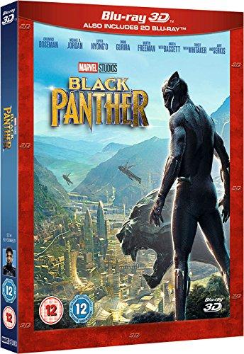 Black Panther 3D Steelbook mit deutscher Tonspur
