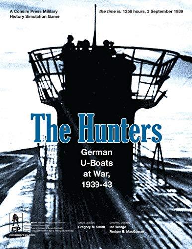 Die Jäger - Deutsche U-Boote At War - Das Brettspiel
