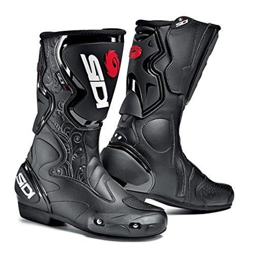 Sidi Fusion Lei Stivali da Moto, Nero, 37